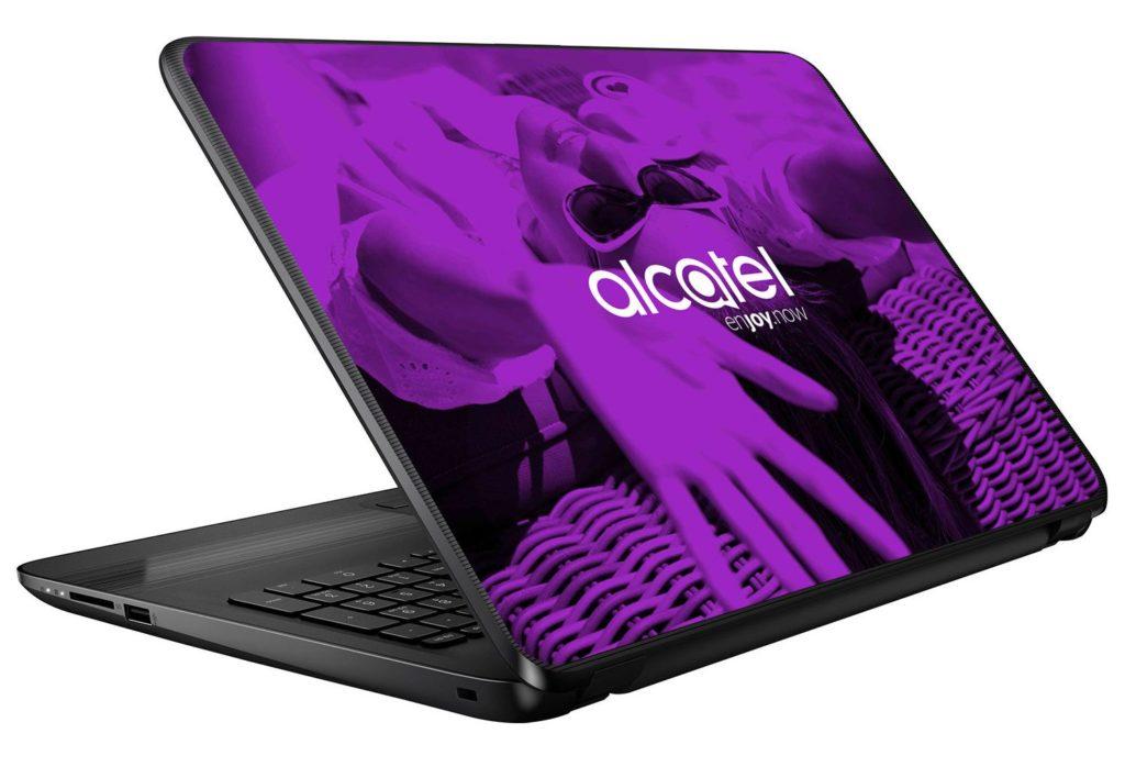 Alcatel Laptop Skin