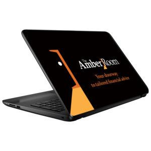 Amber Laptop Skins