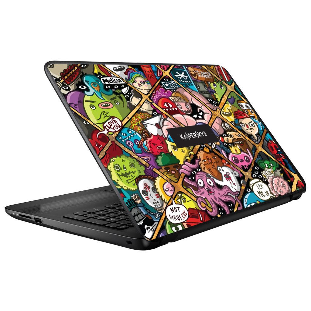 Kaspersky Laptop Skin