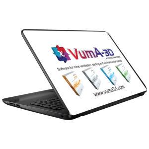 VumA-3D Laptop Skin