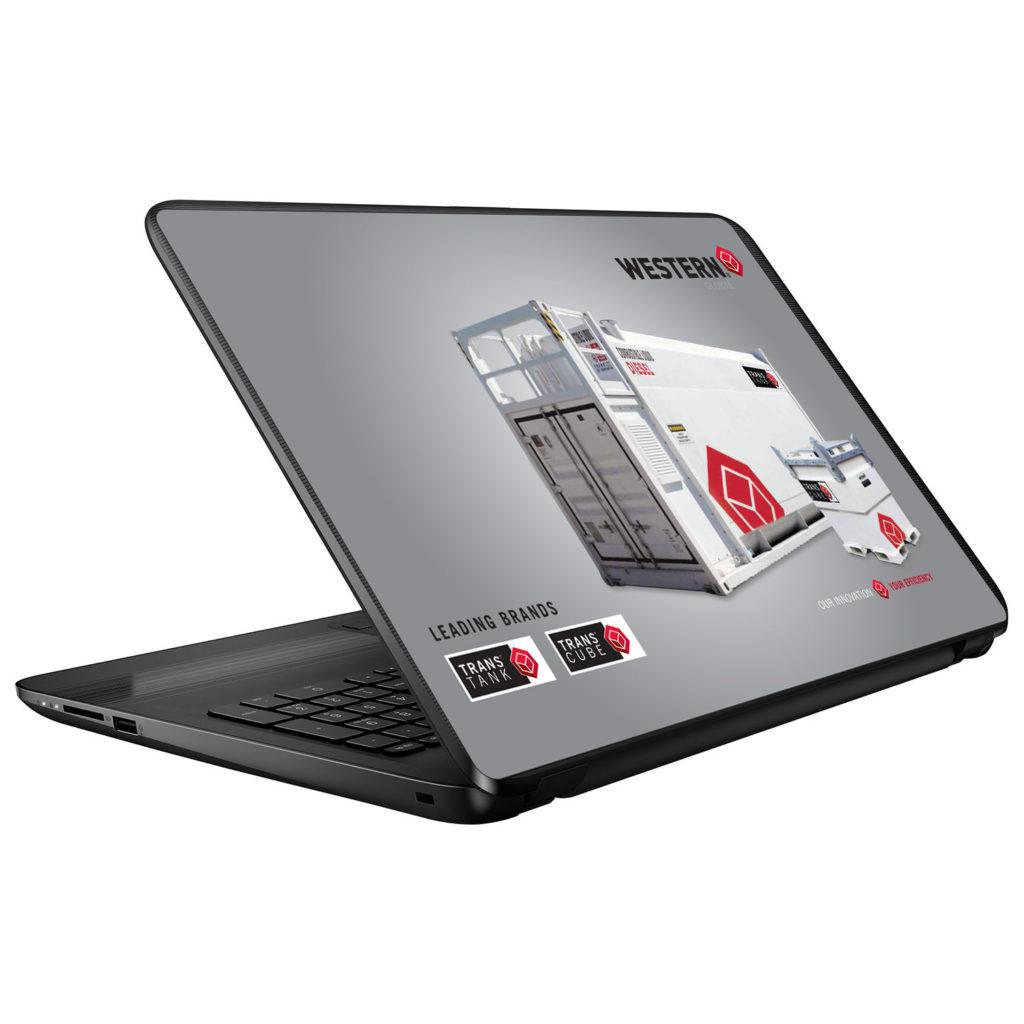 Western Global Laptop Skin