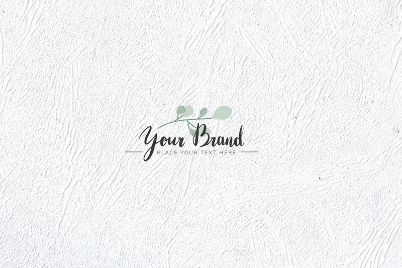 White Textured Paint Skin Background